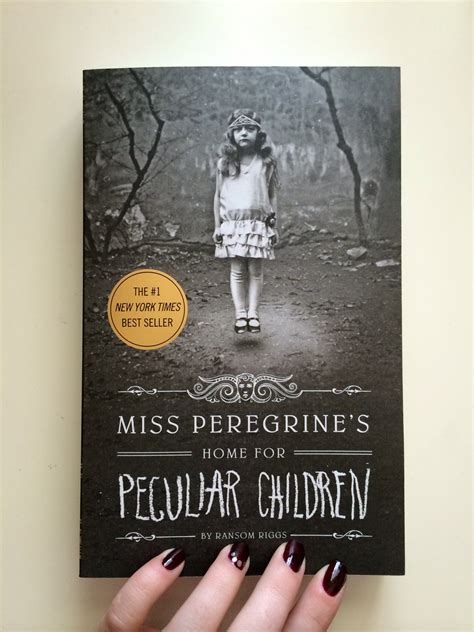 miss peregrine s home for peculiar children novels and