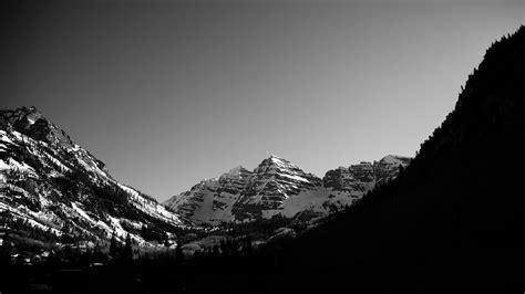 black and white mountain wallpaper monochrome mountains wallpaper 9203 2560 x 1440