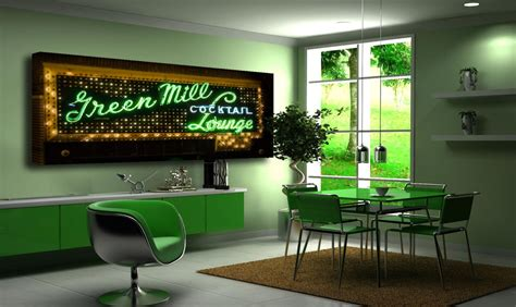 chicago photography wall green photo green mill