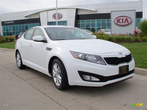 Kia Optima 2012 White 2012 Snow White Pearl Kia Optima Ex 55101649 Gtcarlot