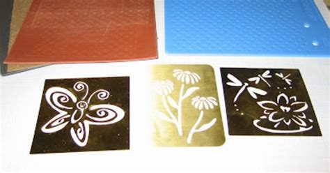 brass embossing templates after hours ster tutorial how to emboss brass