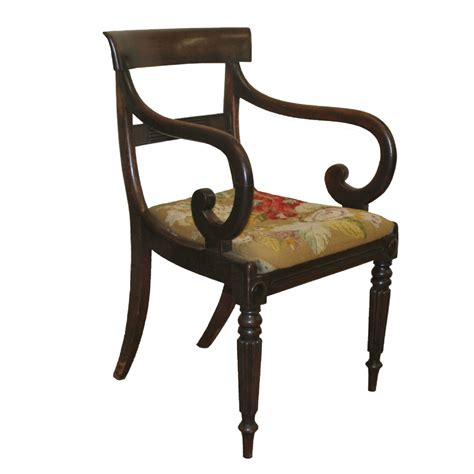 Scroll Arm Chair Design Ideas A Regency Scroll Arm Chair 244878 Sellingantiques Co Uk