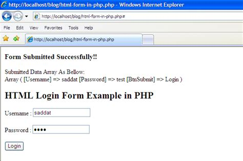 what is template in php exles html form exle in php
