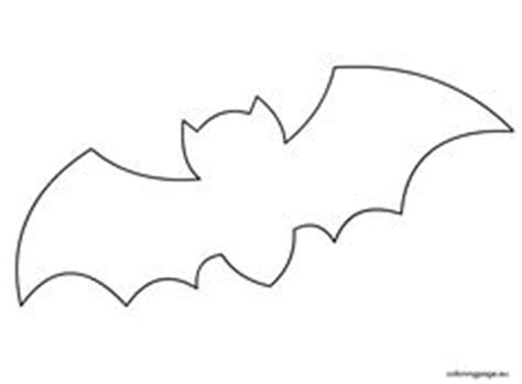 printable paper bats pumpkin cutout templates bat free printable coloring