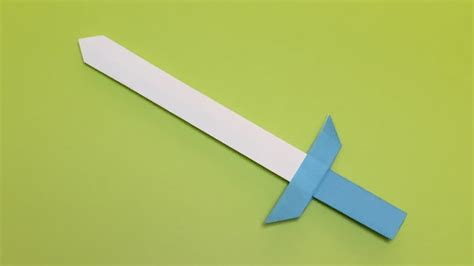How To Make An Origami Sword With A - origami appealing origami sword origami sword