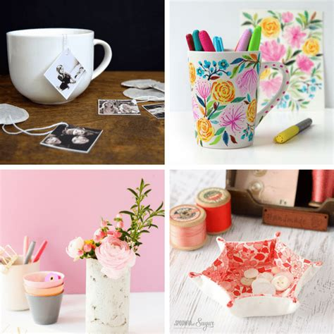 Handmade Mothers Day Presents - a roundup of 20 s day gift ideas from adults