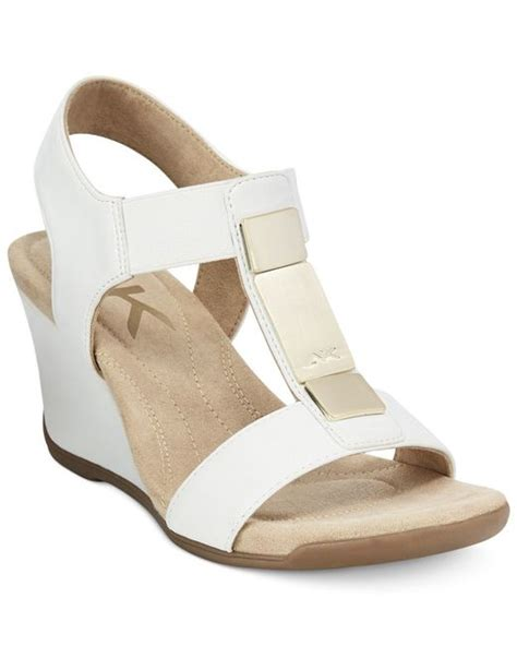 klein wedge sandals a macy s exclusive style