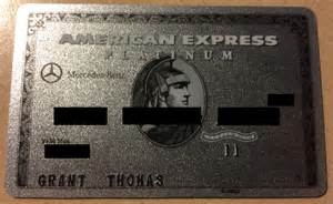 Mercedes American Express Platinum 200 Airline Reimbursement For Amex Platinum Members