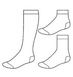 sock template the world s catalog of ideas