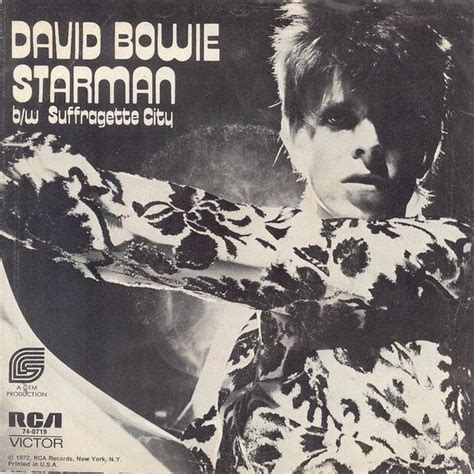 starman david bowie ost the martian starman sufraguette city single cover by david bowie