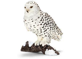 Snow Owl Papercraft By Elfbiter - schleich