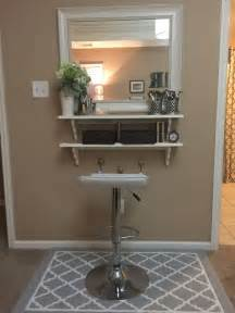 Vanity Table Hobby Lobby Diy Make Up Vanity For Cheap Mirror From Tj Max And Wood