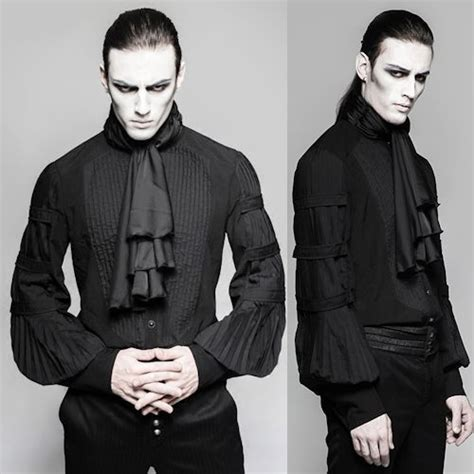 Black Fashion Shirt black sleeve pleated fashion dress