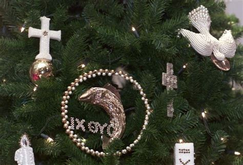 significance of christmas tree and ornaments handmade ornaments proclaim spiritual meaning of the blade