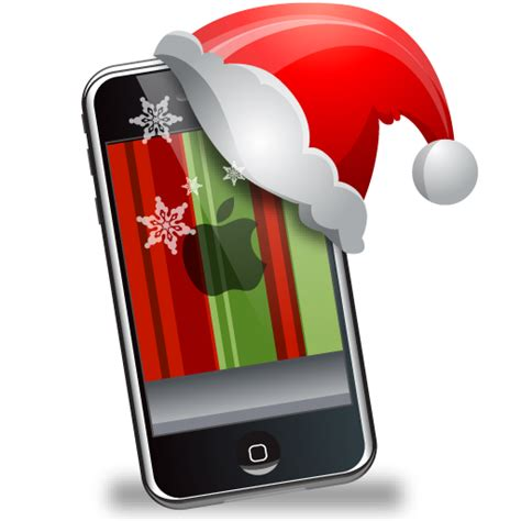 iphone icons free icons in christmas gadgets icon