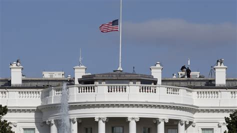 white house flag half staff trump proclaims flags be flown at half staff for 5 days to honor florida shooting
