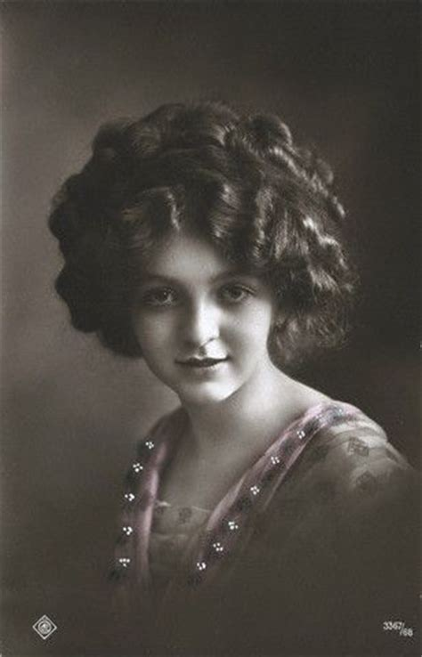 hair in 1910 1919 1910s hair vintage portraits women pinterest