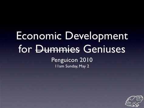 Mba Basics For Dummies by Economic Development For Dummies