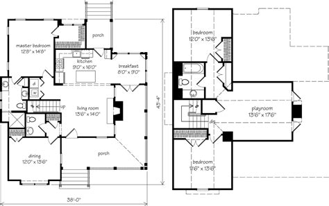 top southern living cottage floor plans best home design