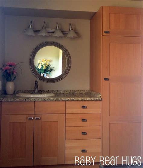 master bath vanity using kitchen cabinet bases ikea kitchen made into a bathroom vanity remodel ideas