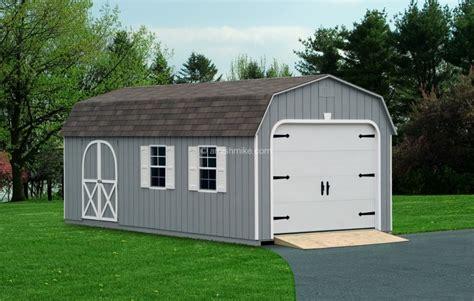 Amish Shed Garage by Signature Garages Amish Mike Amish Sheds Amish Barns