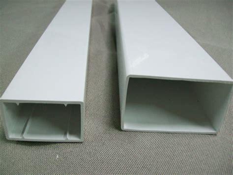 tubos cuadrados de pvc cut size pvc rectangular tubes