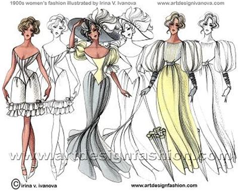 fashion illustration history timeline creative or not 15 fashion inspired illustrations