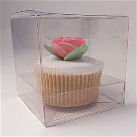 clear single cupcake boxes and gift boxes for muffins 70mm