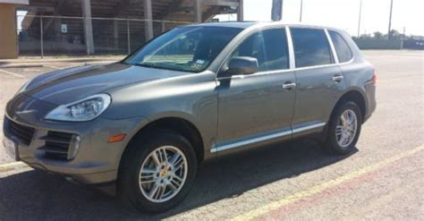 automobile air conditioning service 2009 porsche cayenne electronic toll collection buy used 2009 porsche cayenne s sport utility 4 door 4 8l in austin texas united states for