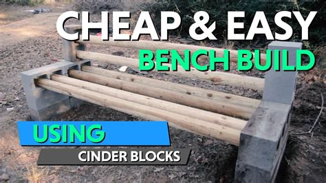 how to build a bench out of cinder blocks how to built this diy cinder block bench for our future