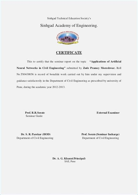 experience letter format for civil engineer work experience certificate sle software engineer