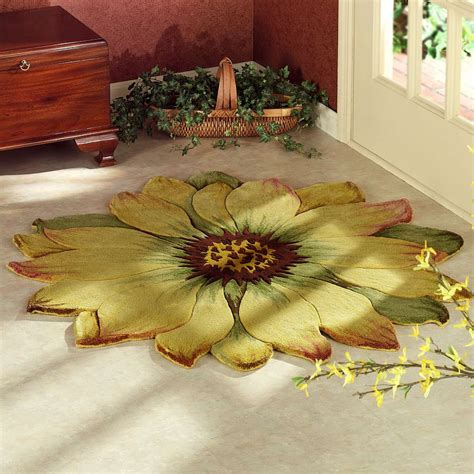 flower shaped floor ls contemporary rug ideas to ornament your floors mozaico blog