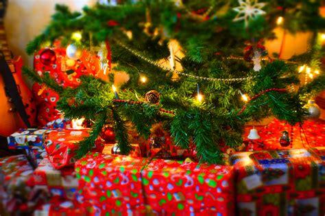 stock photo  christmas christmas tree gifts