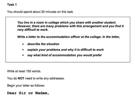 Formal Letter Sle For Ielts Ielts Writing Task Sles Magoosh Ielts