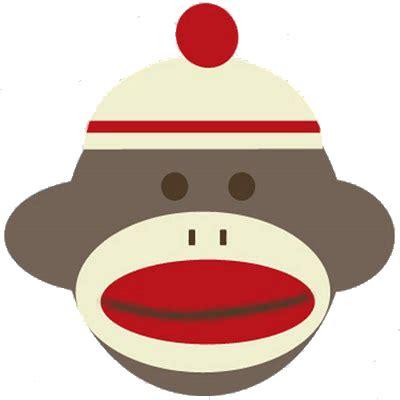 Free Printable Sock Monkey Clip