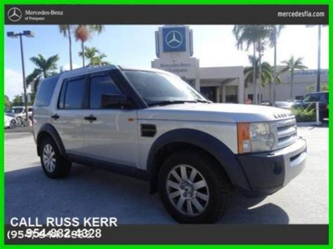 car maintenance manuals 2006 land rover lr3 electronic toll collection buy used 2006 land rover lr3 se 4 4l v8 32v automatic four wheel drive suv in pompano beach