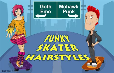 Skater Hairstyles For Guys by Funky Skater Haircuts For Guys And To Sport In Style