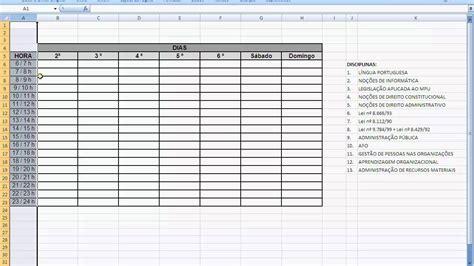 William Douglas Calendario De Estudos Como Montar Um Plano De Estudos Parte 1