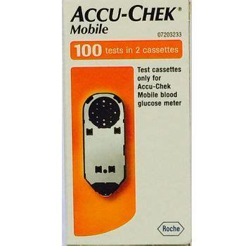accu chek mobile test cassette 100 accu chek mobile cassette 100 towers pharmacy