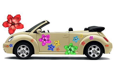 Aufkleber F R Auto Schweiz by Hibiskus Blumen Hawaii Auto Aufkleber Blumenaufkleber