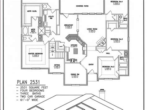 Duplex Corner Lot House Plans Popular House Plans And Ranch House Plans With Rear Exposure