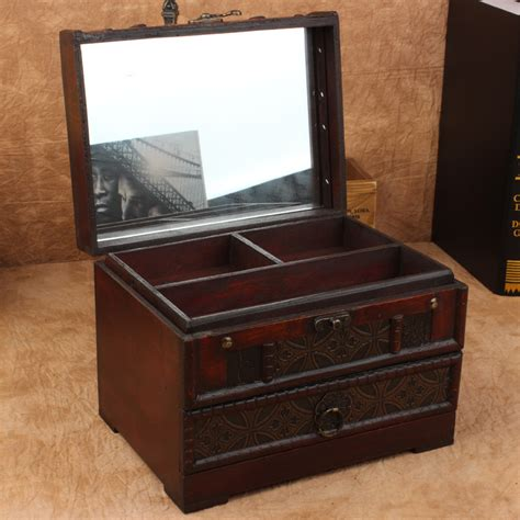 Vanity Box Price by High Quality Retro Antique Wooden Vanity Box Retro With