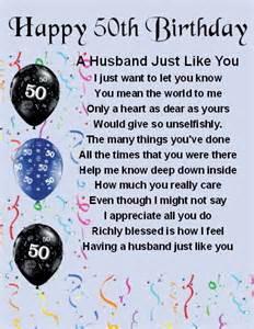 fridge magnet personalised husband poem 50th birthday free gift box ebay