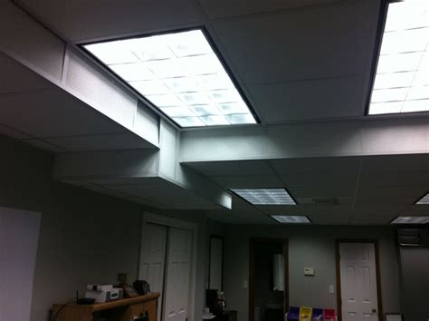 in overhead light knowledge fluorescent light vs a light that excites