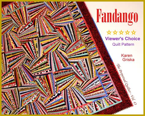 New Quilt Designs by Griska Quilts New Fandango Quilt Pattern