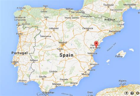 on map where is benicassim on map spain world easy guides