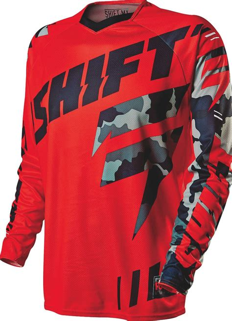 shift motocross gear mxa team tested shift mx faction gear