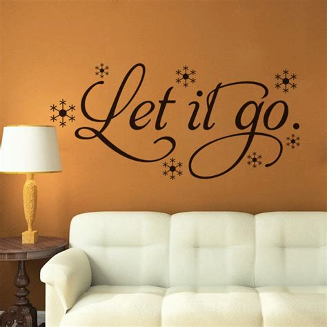 childrens wall decor stickers aliexpress buy let go quotes wall stickers vinyl