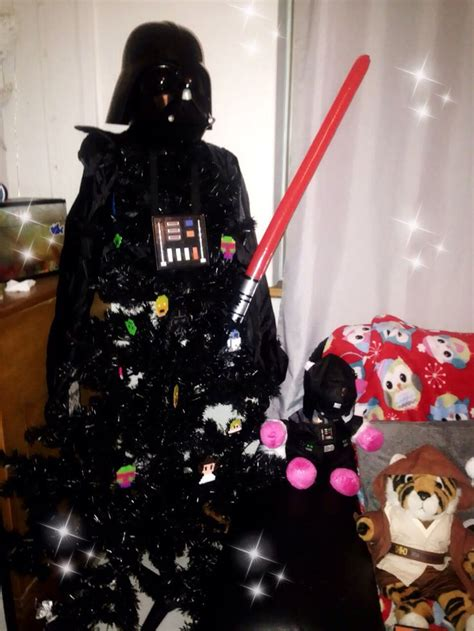 star wars darth vader christmas tree star wars christmas
