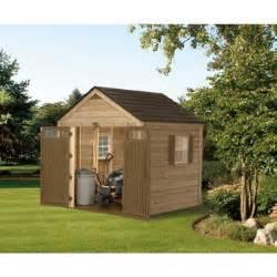 Costco Garden Sheds Suncast 174 8 Ft X 8 Ft Wood Resin Hybrid Storage Shed